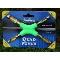 NuFish Forma pt. Pelete (Quad Punch) 4 ~ 10mm