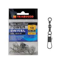 Agrafa cu Vartej Trabucco Barrel Safety Snap, 12buc/plic (No.04 ~ 20)