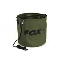 Bac Pentru Apa Fox Pliabil Collapsible Water Bucket, Large