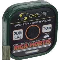 Carp Spirit Fir Mono Riga-Mortis Lo-Vis Green 15lb/20mt