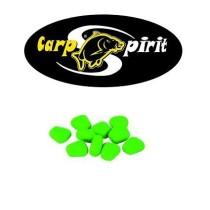Carp Spirit Porumb Artificial Flotant Fluo Verde 10 buc