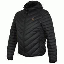 Geaca cu Gluga Fox Quilted Jacket, Black/Orange (Mar. S; M; L; XL 2XL; 3XL)