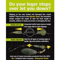 Entreprise Tackle Adjuster Stop Standard (Conectori Rapizi)