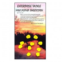 Enterprise Tackle - Mini Pop-Up Sweetcorn Yellow Unflavoured