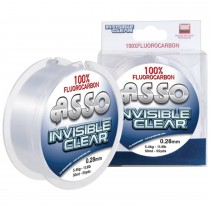 Asso Fir Fluorocarbon 50 mt. Invisible Clear 0,11; 0,13; 0,15; 0,17; 0,19; 0,21; 0,23; 0,25; 0,28; 0,30; 0,35; 0,40mm