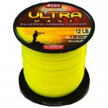 Fir Asso Ultra Cast Galben Fluo 1000m