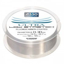 Asso Fir Ultra Low 50 mt. Stretch Smoke(0.08 ~ 0.18 mm)