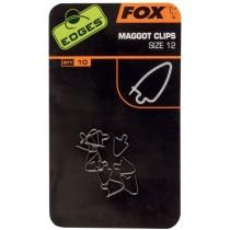 Fox Edges Clipsuri Viermisori - Maggot Clips Nr. 10