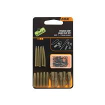 Fox Edges Set Kit Clips+Conector Nr.7 Kaki (5buc)