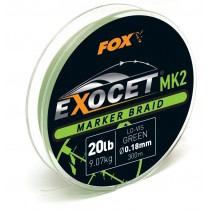 Fox Fir Textil Marker Exocet Verde 300mt - 0,18mm/9,07kg