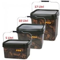 Fox Galeti Camo Square - 5; 10; 17 litri