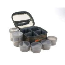 Fox Camolite Gentuta cu 6 Borcane Dip - Glug 6 Pot Case
