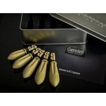 Gemini A.R.C System Leads - Sand Brown - Mixt (1x2oz; 1x2,5oz, 1x3oz; 2x3,5oz)