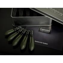Gemini A.R.C System Leads - Weed Green - Mixt (1x2oz; 1x2,5oz, 1x3oz; 2x3,5oz)
