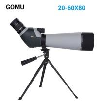 Telescop Terestru Gomu 20-60x80 cu trepied