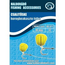 Haldorado Tepuse Momeala Cu Inel De Silicon 7 mm/10 buc.