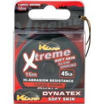 Fir textil moale K-Karp - Xtreme Soft Camo Brown 25Lb/16mt