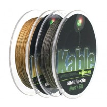 Fir Leadcore Korda KABLE  Weed/Silt 25mt - 22,67kg