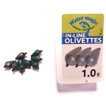 Plumb Culisant FL In-Line Olivette Picatura Eco cu Varnis 1.0g~5.0g