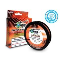 Fir Power Pro Bite Motion 135mt - 0,10mm (portocaliu/negru)