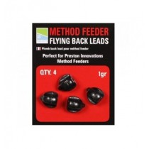 Flying Back Leads, Preston, 4 buc/pac, 1 gram