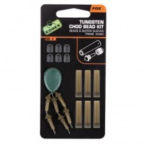 KIT FOX TUNGSTEN CHOD BEAD, 3X6BUC/SET