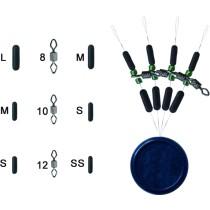 Trabucco Set Rolling Diam+Bilute+Stoper S-4 buc