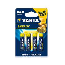 """Varta - Baterie Alcalina """"Energy"""" AAA (R3) 4buc/blister"""