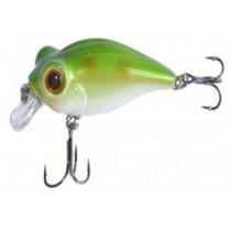 Vobler Owner Bug Eye Bait 50mm 6,5gr 57 Alb Sidef Spate Verde