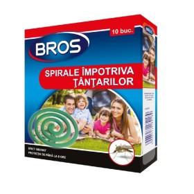 Bros Spirale impotriva tantarilor - 10buc/pac.