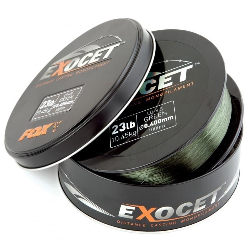 Fox Fir Exocet Mono Trans Khaki - 1000 Metri