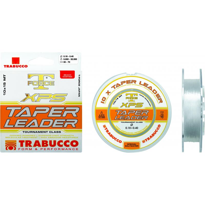 Fir Trabucco T-Force Taper Leader 10x15m