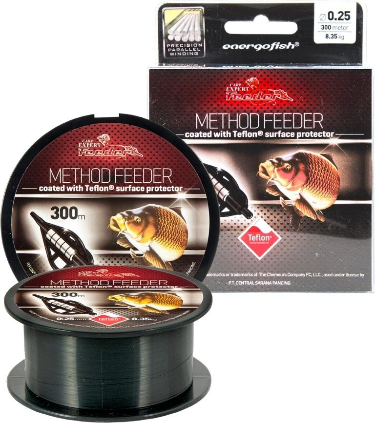 Carp Expert Fir Method Feeder Teflon 300mt