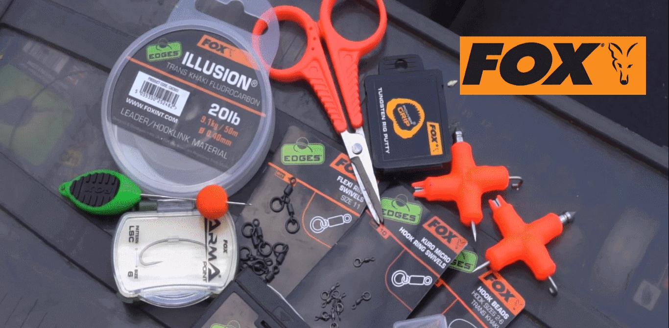 Accesorii Fox, cele mai bune accesorii pentru pescuit la crap